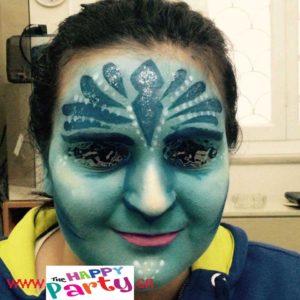 ταχυδακτυλουργος face painting για παρτυ