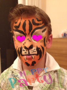 face painting για παιδικά πάρτυ