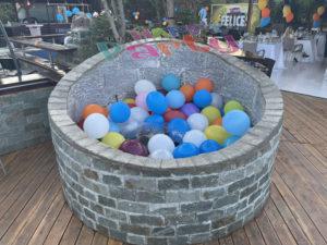 βαπτιση μπαλονια
